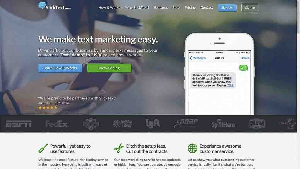 SMS Marketing Reviews slicktext-promo-code-homepage-screen-shot SlickText Review and Promo Code promo codes SMS Marketing Reviews  Text marketing reviews sms marketing reviews slicktext reviews slicktext promo code